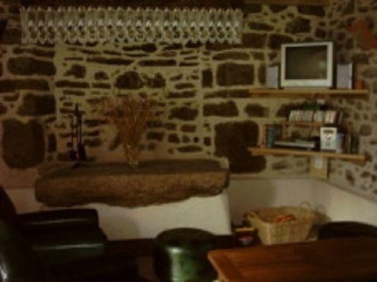 Gîte Racouët salon - Pleucadeuc - Morbihan - Bretagne