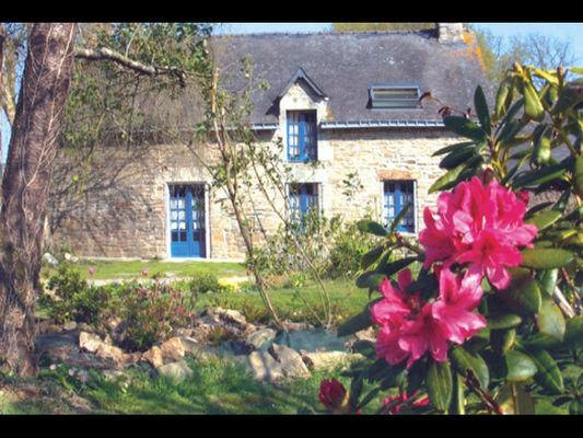 Gîte la Maison d'Anne jardin - St Guyomard - Morbihan - Bretagne
