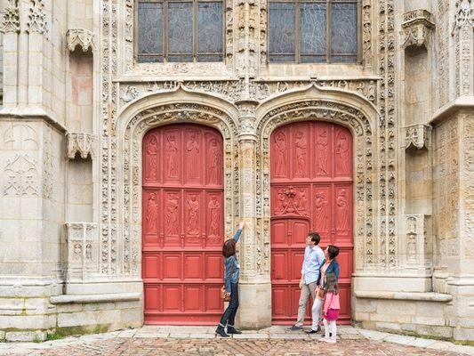 Portail Nord- Eglise Saint Armel - Ploërmel - Brocéliande - Bretagne