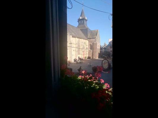 Vue de la crêperie Maël Trech à Malestroit - Morbihan - Bretagne