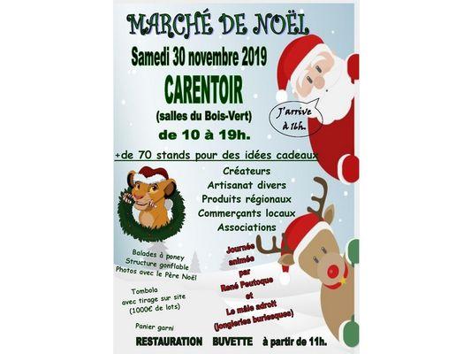 Marché Noël Carentoir Destination Brocéliande