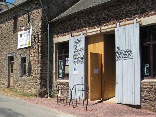 entrée du musée de la forge Saint-Malon-sur mèl