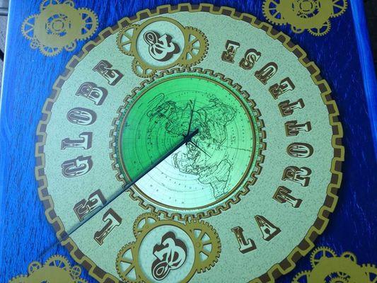 Le Globe et la Trotteuse