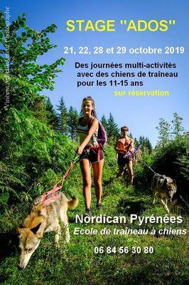 Stage ado Nordican Pyrénées