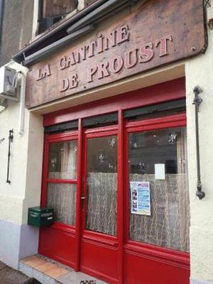 La Cantine de Proust - Entrée du Restaurant