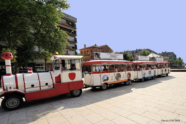 Le petit train touristique - découvrir Montauban en petit train
