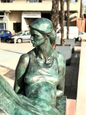 Cléopâtre, Flavio de Faveri 2019 Sculptures centre-ville Montauabn