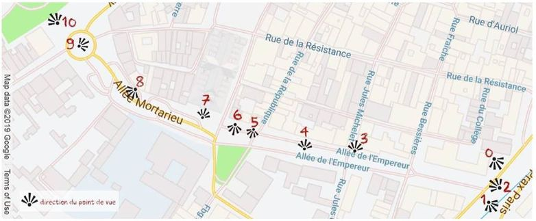 Les allées dévoilées Montauban Tarn-et-Garonne