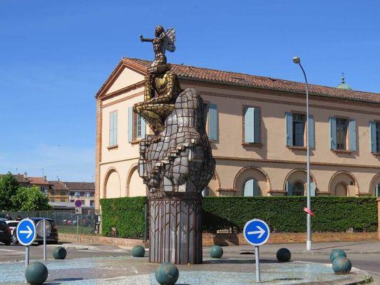 Médiaman - Jean-Louis Tripp - Sculpture Montauban Tarn-et-Garonne