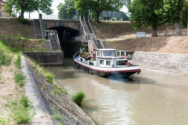Port Canal - Canal Montauban - vélo voie verte