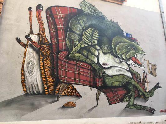 100taur street art Montauban