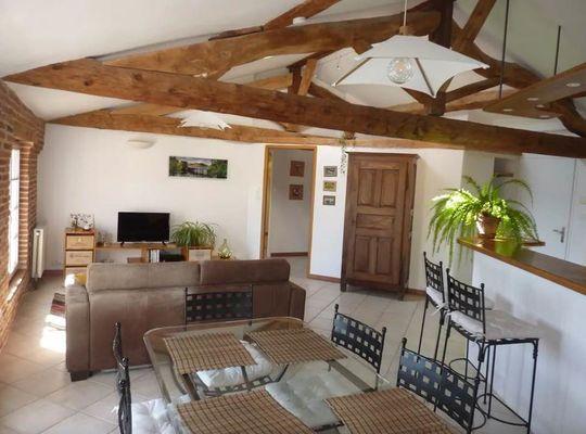 Appartement de charme avec vue sur le Tarn Meublé Montauban Tarn-et-Garonne
