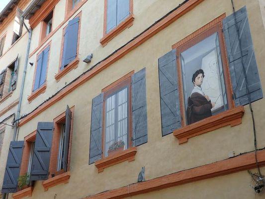 Trompe l'Oeil Ingres Montauban ©AndSoMyDreamsCameTrue