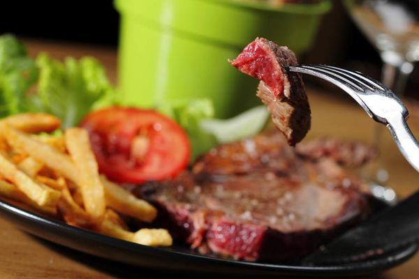 les plats de viande du restaurant la maison lacube
