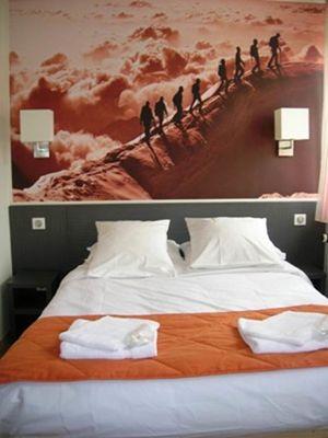 hôtel la grande cordée à ax les thermes - chambre