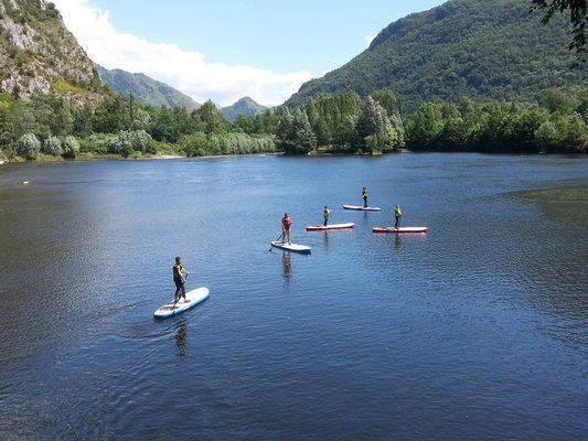 Paddle waterploof lac de sinsat