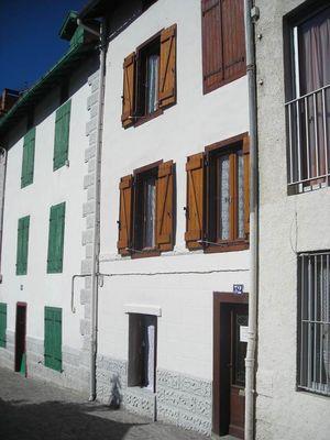 appartement 2 personnes à ax les thermes - façade