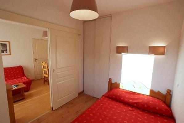 T2 6 pers séjour + chambre
