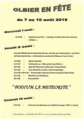 Fête d'Olbier - Local event - Auzat | Office de Tourisme des