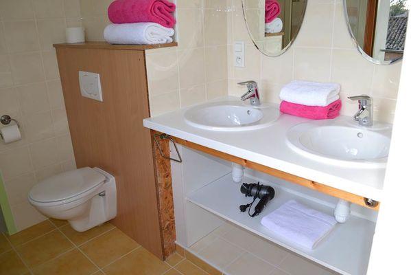 Grand gîte - salle de bain