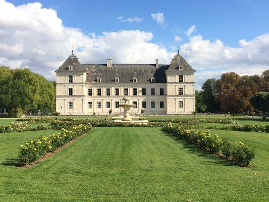 Château d'Ancy le Franc, parterre Ouest