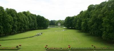 Jardin à l'anglaise, Château d'Ancy le Franc