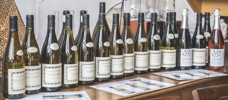 Les vins Clotilde Davenne