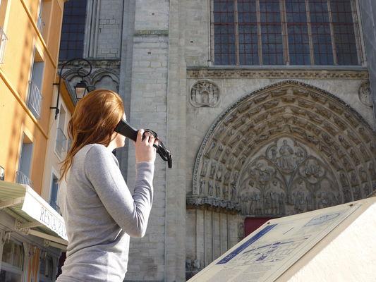 Visite audioguidée de la cathédrale