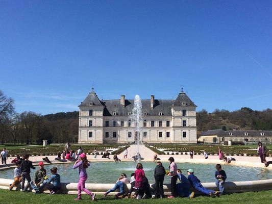 Château d'Ancy le Franc, Parterre Est