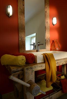 ockra lavabo travertin établi