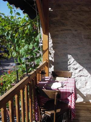 La terrasse balcon