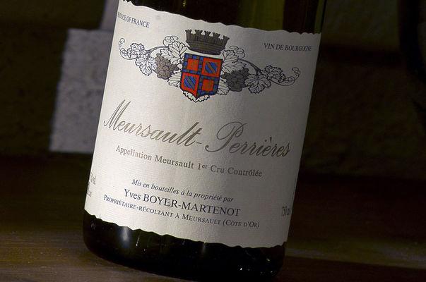 Bouteille Domaine Boyer-Martenot