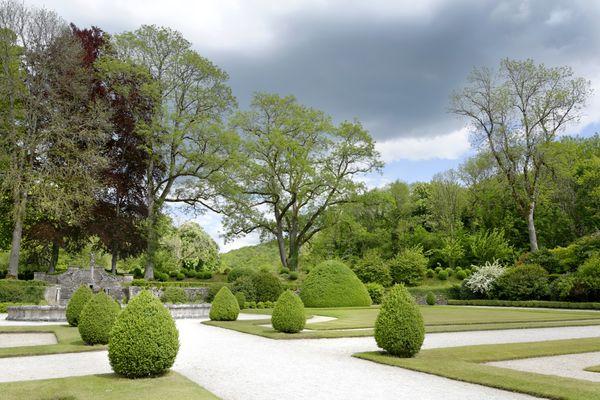 Jardins de l''Abbaye de Fontenay