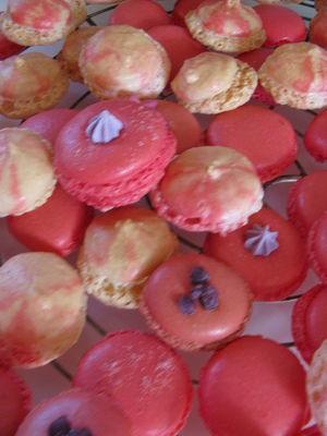 atelier pâtisserie pour adultes - petits macarons