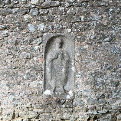 Stèle d''une vénus gallo-romaine façade Sud