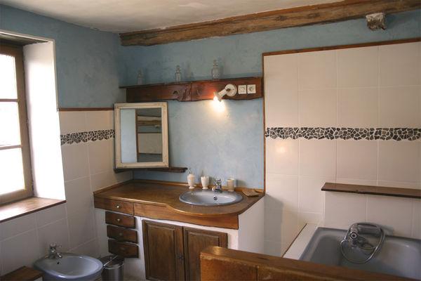 Salle de bain chambre Bois