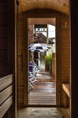 sauna intérieur Hôtel le Cep Beaune