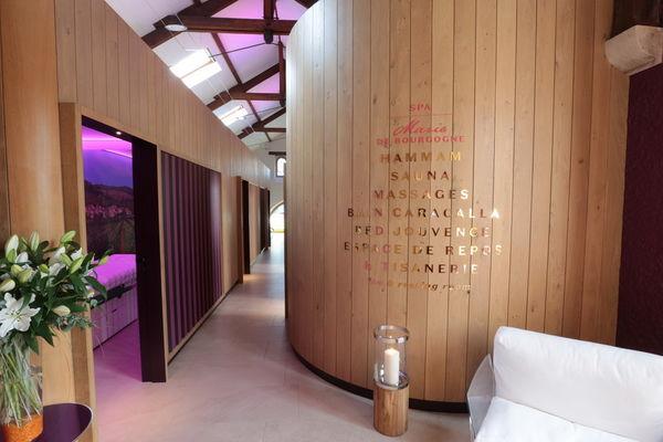 spa Marie de Bourgogne accès massage