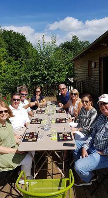 Convivialité autour de la truffe de Bourgogne