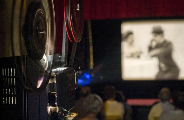 Festival Ciné Rétro Bobine de film et projection