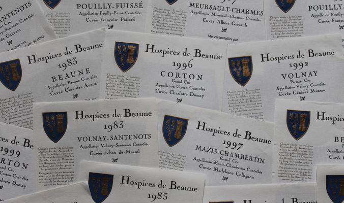 Etiquettes Hospices de Beaune