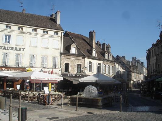 Vue sur la rue d''Alsace