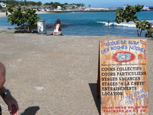 Ecole de Surf des Roches Noires