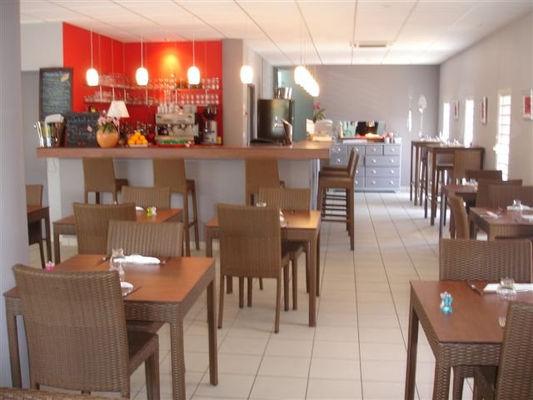 Comptoir du restaurant Le Thalès