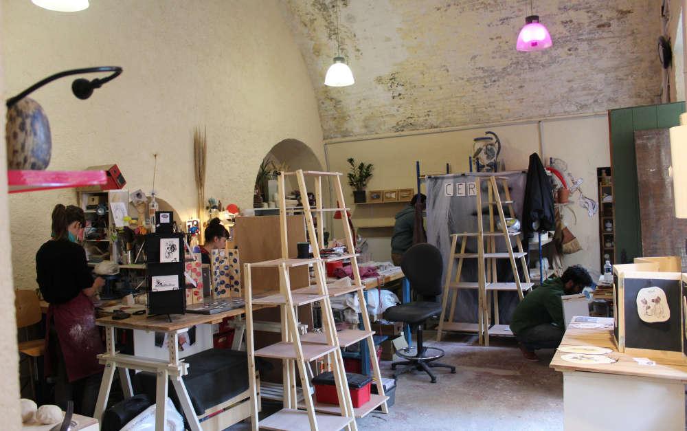 atelier rajac activit culturelle antibes site officiel de l 39 office de tourisme. Black Bedroom Furniture Sets. Home Design Ideas