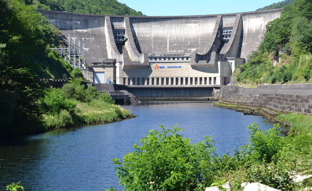 Journ e du patrimoine au barrage du chastang servi res - Office de tourisme collonges la rouge ...