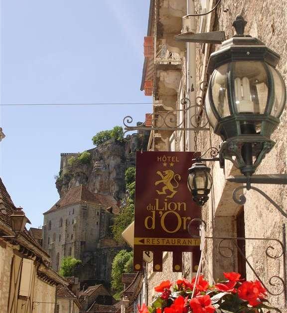 H U00f4tel Restaurant Le Lion D U0026 39 Or - Rocamadour