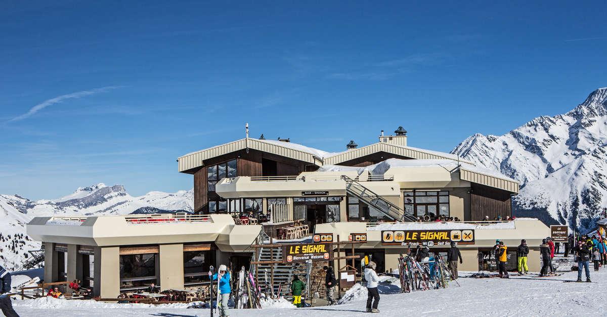 Le signal les contamines montjoie station de ski des contamines montjoie au coeur du massif - Office tourisme les contamines montjoie ...