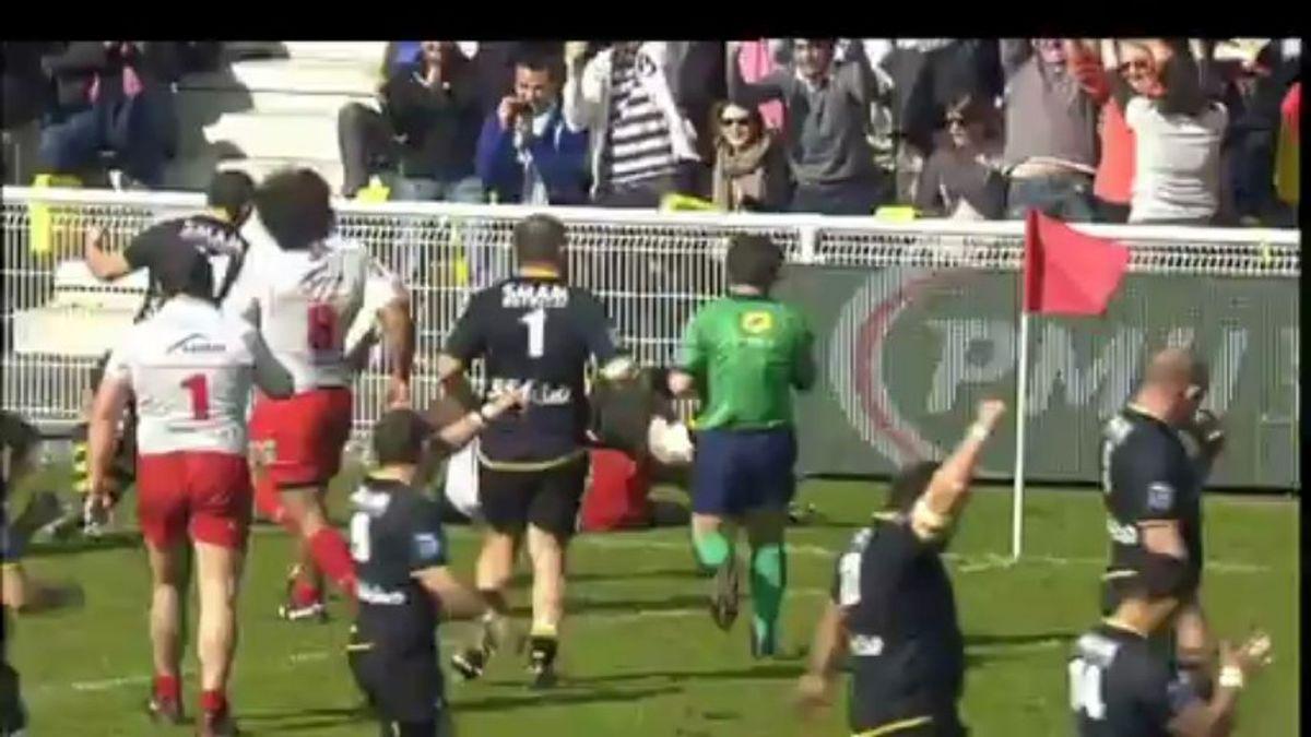 Retour sur le match La Rochelle- Aurillac, 23 ème journée de PRO D2