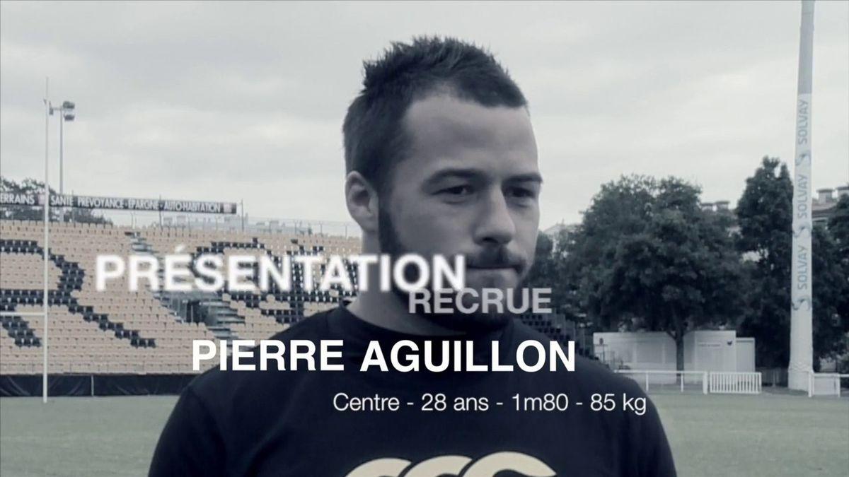 Pierre Aguillon rejoint le Stade Rochelais